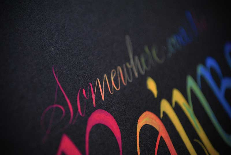somewhere-over-rainbow-calligraphy-art