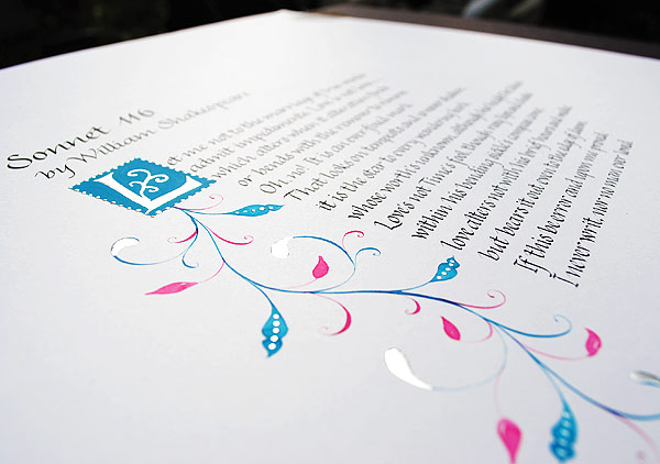 calligraphy-poem-in-italics-with-pink-and-turquoise-border-illustration