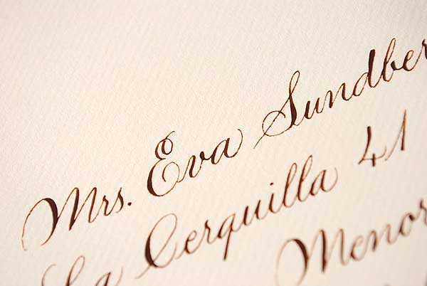 Find out more wedding invitation calligraphy and envelope addressing