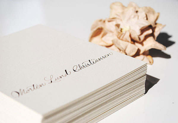 wedding calligrapher place cards handwritten