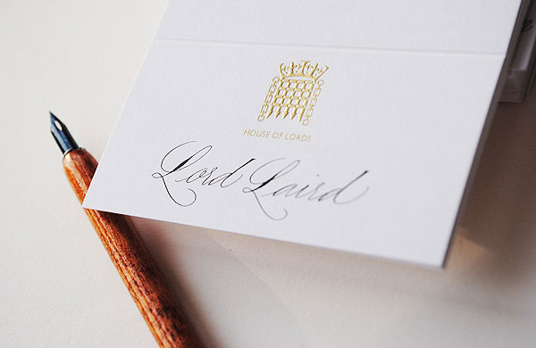 place cards handwritten