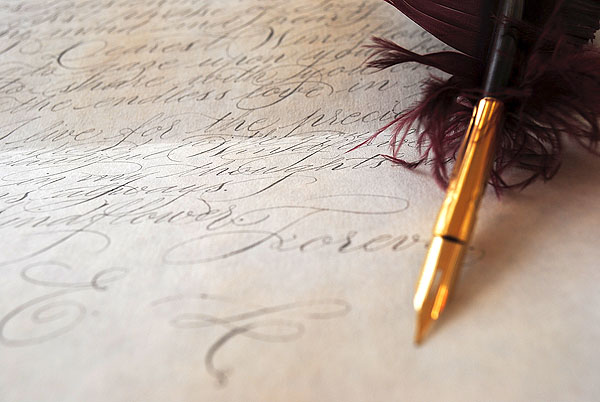wedding calligrapher