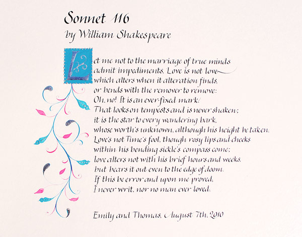 Shakespeare Sonnet 130