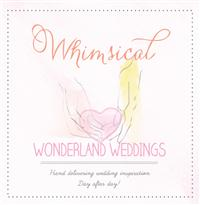 whimsical wonderland wedding blog calligraphy feature