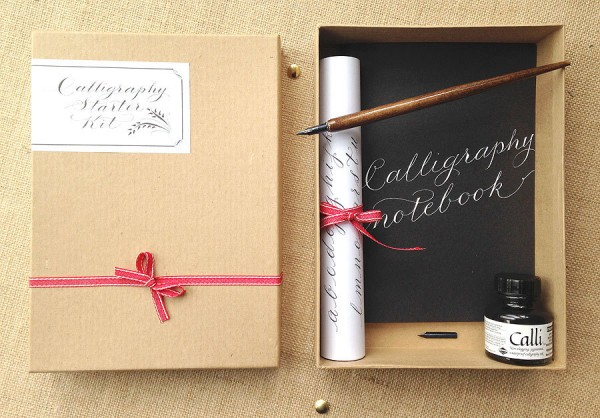 A Choice Of Calligraphy Kits For Learning Quirky Lettering