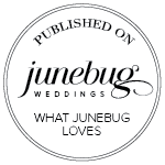 junebug weddings calligraphy feature