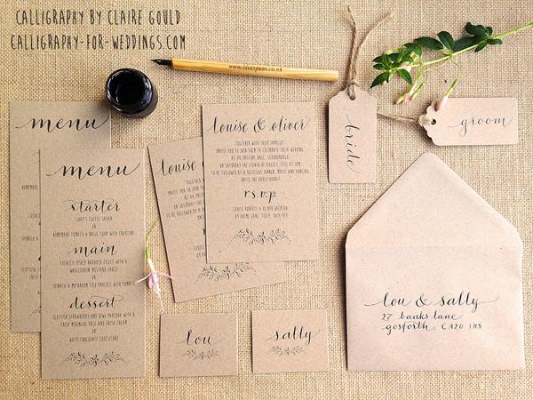 kraft wedding invites uk