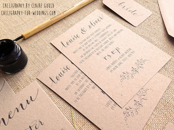 ... Calligraphy Quill Pen Font. on handwritten calligraphy wedding