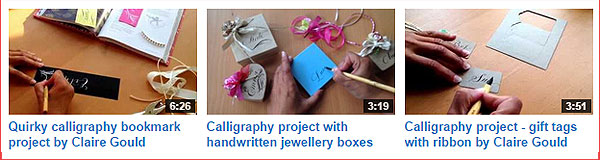 calligrapher youtube