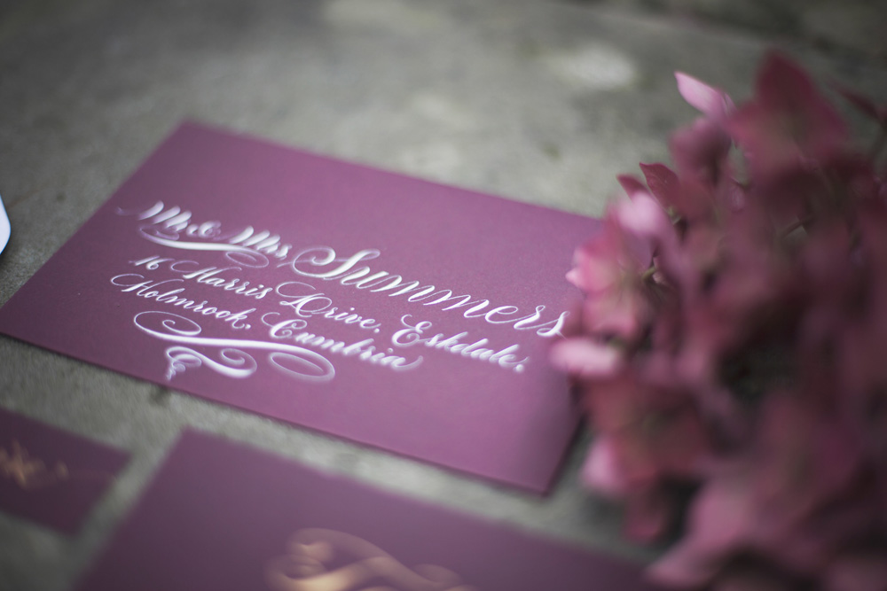 Calligraphy invitations Melissa Beattie Photography  (4)