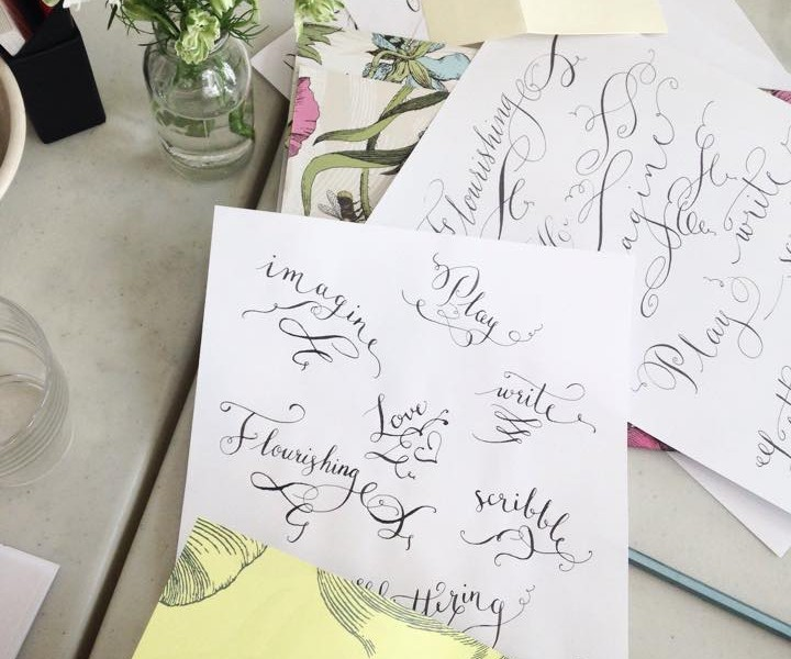 New! Manchester calligraphy workshop on the 21st of August 2015!