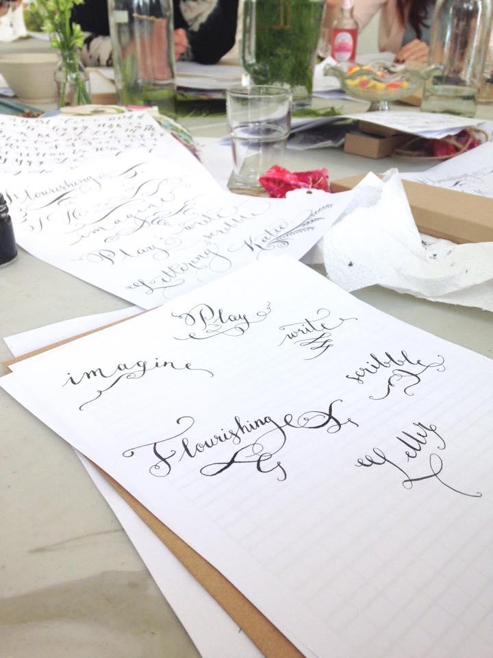 Manchester calligraphy workshop (2)