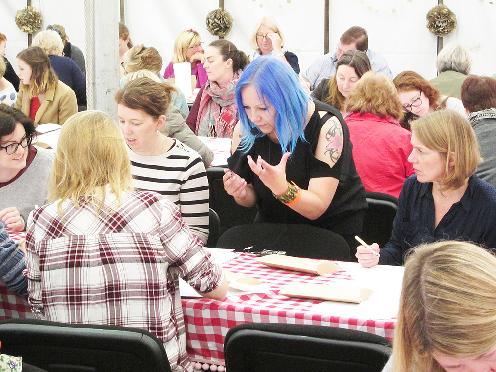 02 Calligraphy at Kirstie Allsopp's The Handmade Fair 2015 (6)