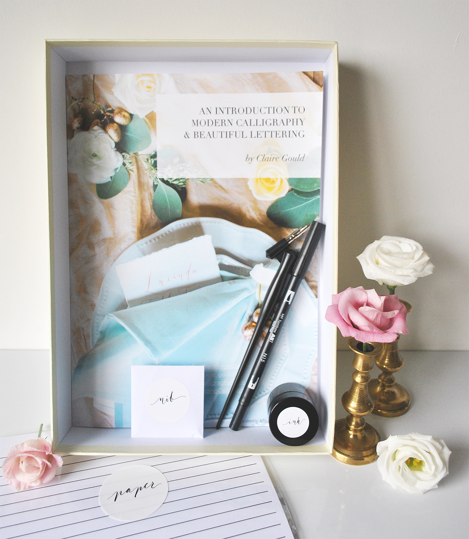 Calligraphy kit uk book and box