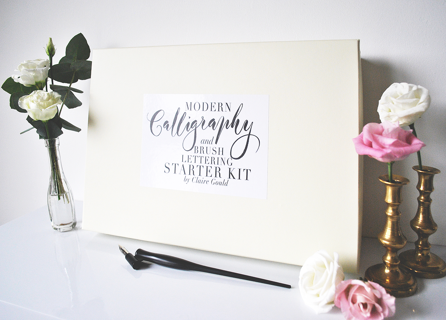 New Calligraphy Starter Kit With Book By Moon Tide