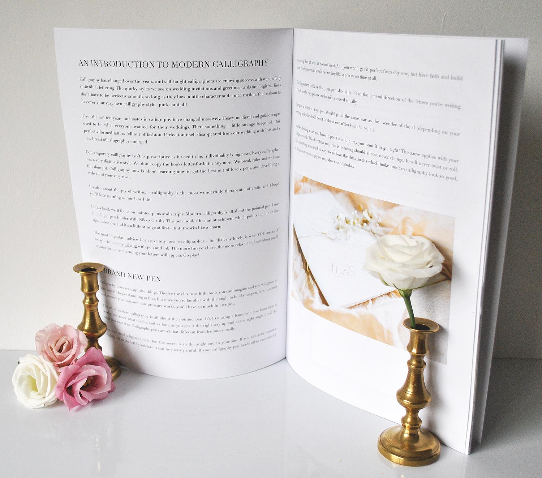 Calligraphy kit uk instruction booklet