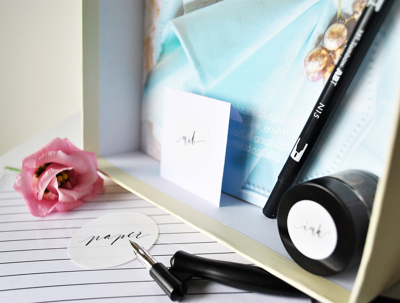 Calligraphy kit uk oblique penholder