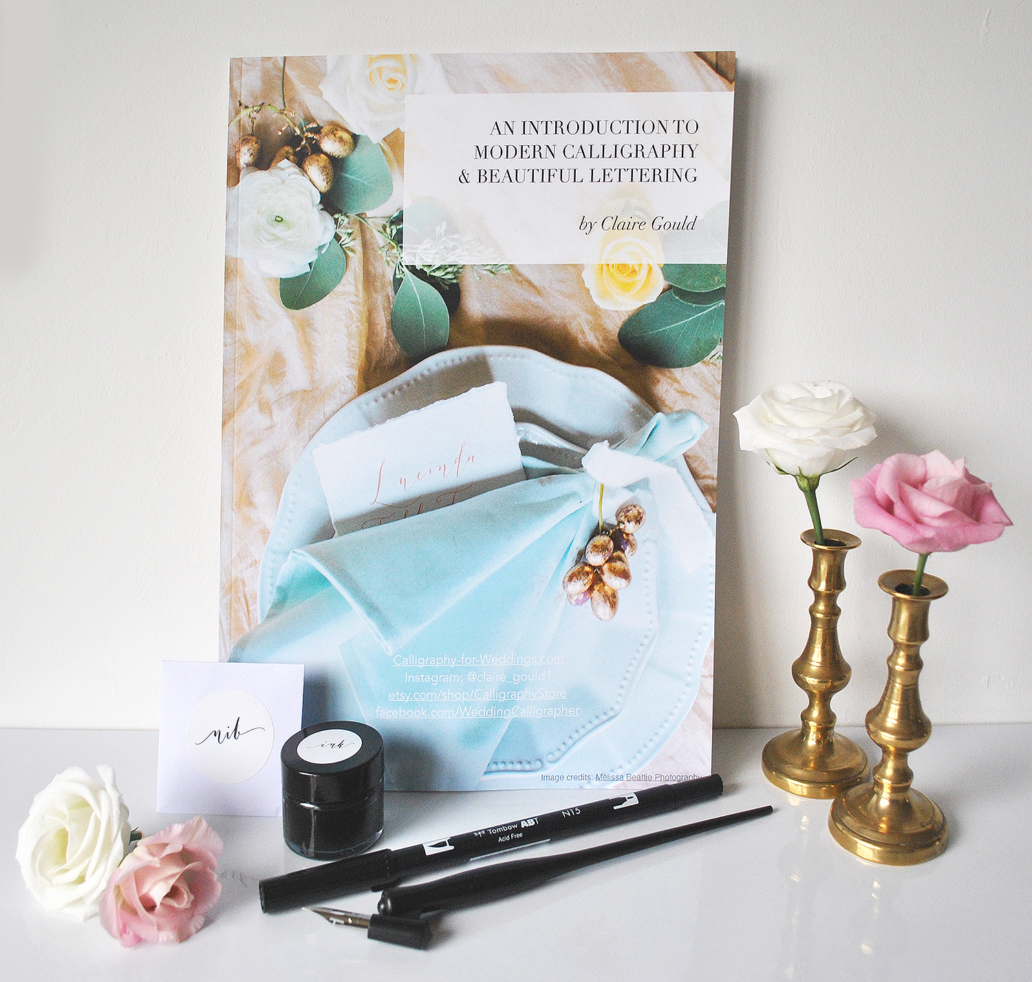 Calligraphy kit uk with book