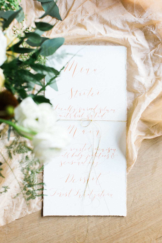Elegant calligraphy-128