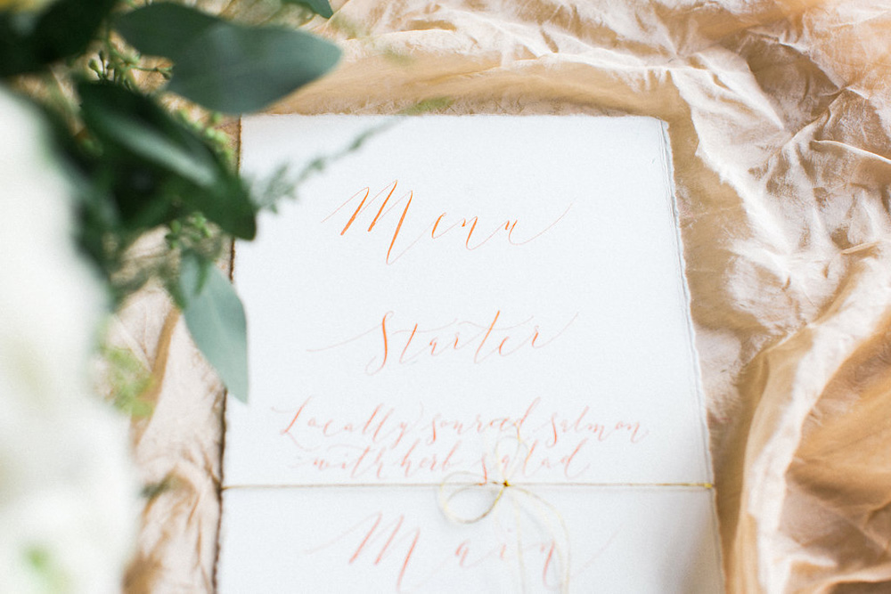 Elegant calligraphy-129