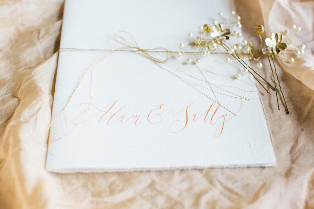 Elegant calligraphy-130