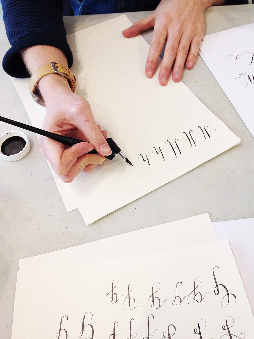 calligraphy workshop manchester