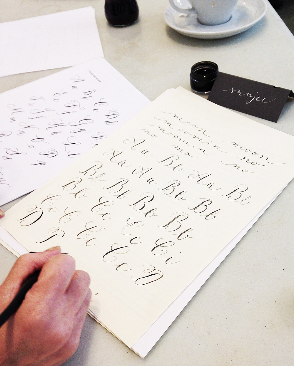 calligraphy workshop manchester 1