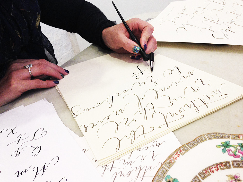 calligraphy workshop manchester 12