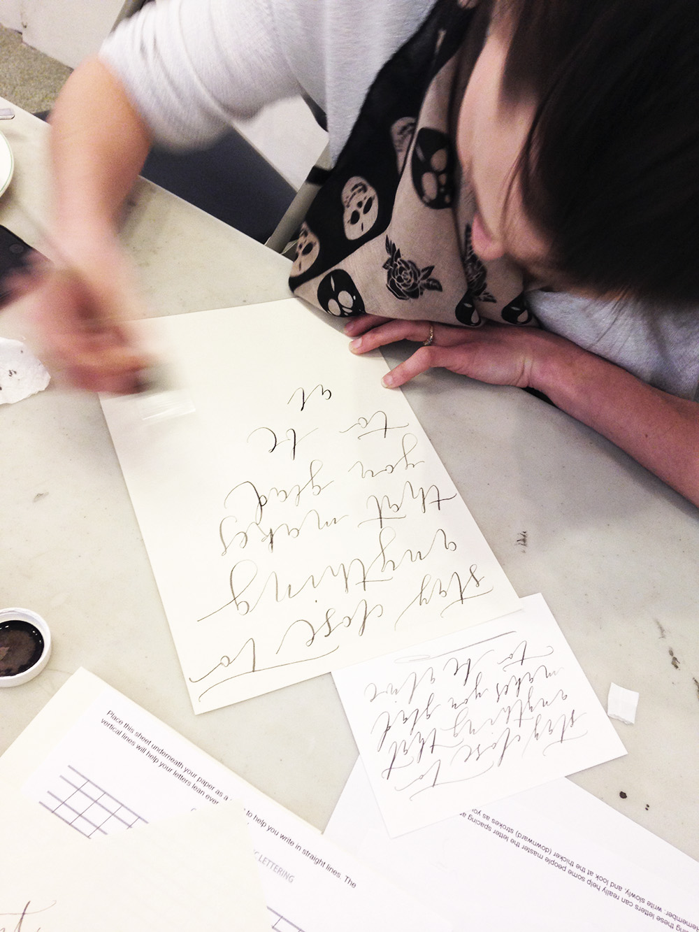 calligraphy workshop manchester 13