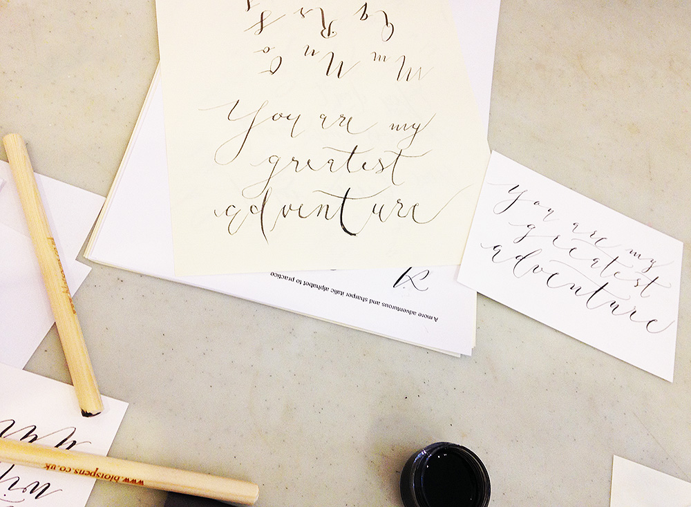 calligraphy workshop manchester 14