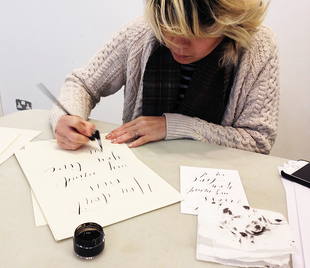 calligraphy workshop manchester 6