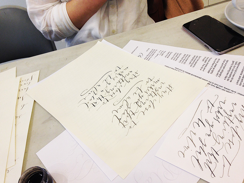 calligraphy workshop manchester 8