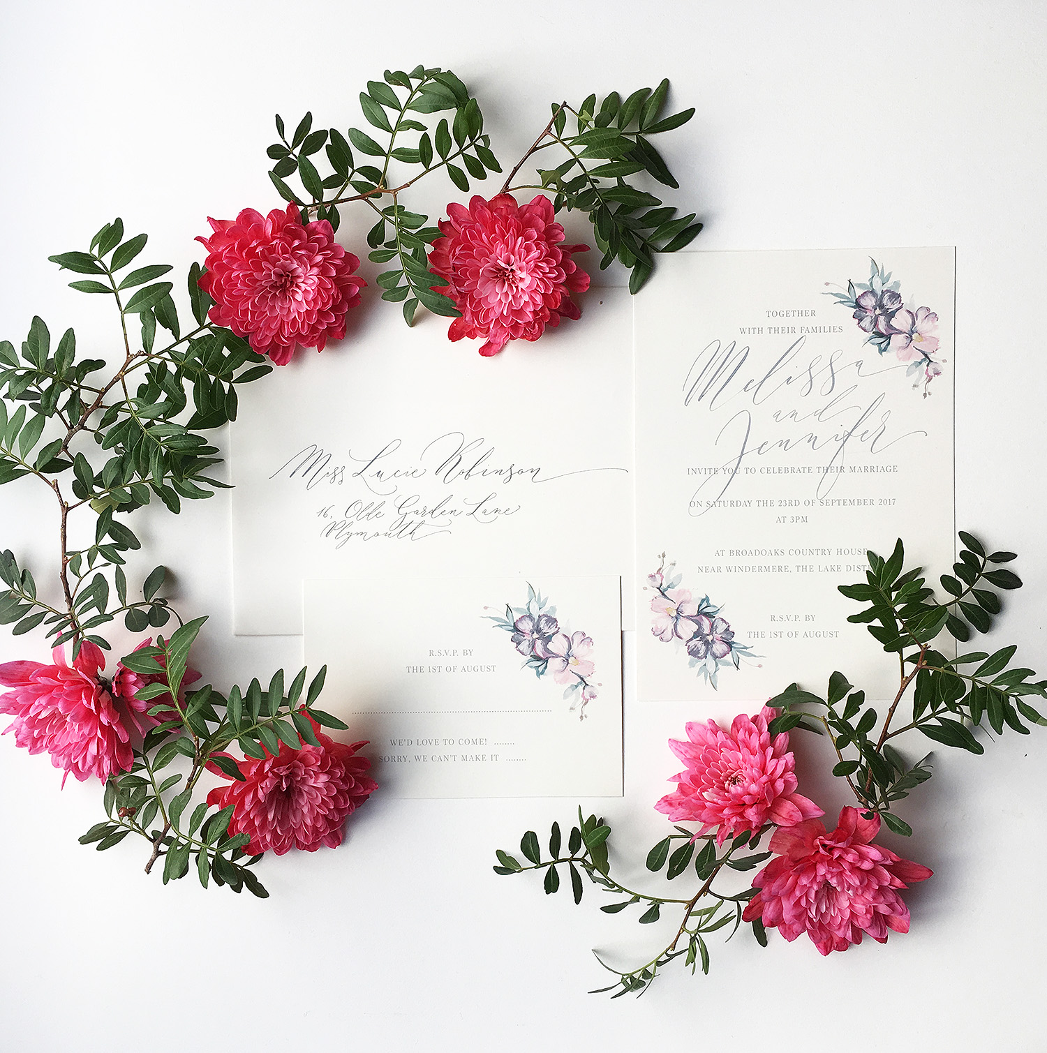 The Enchanting Secret Garden Wedding Invitation Is Available In My Online Shop From Today And Prices Start GBP250 Per
