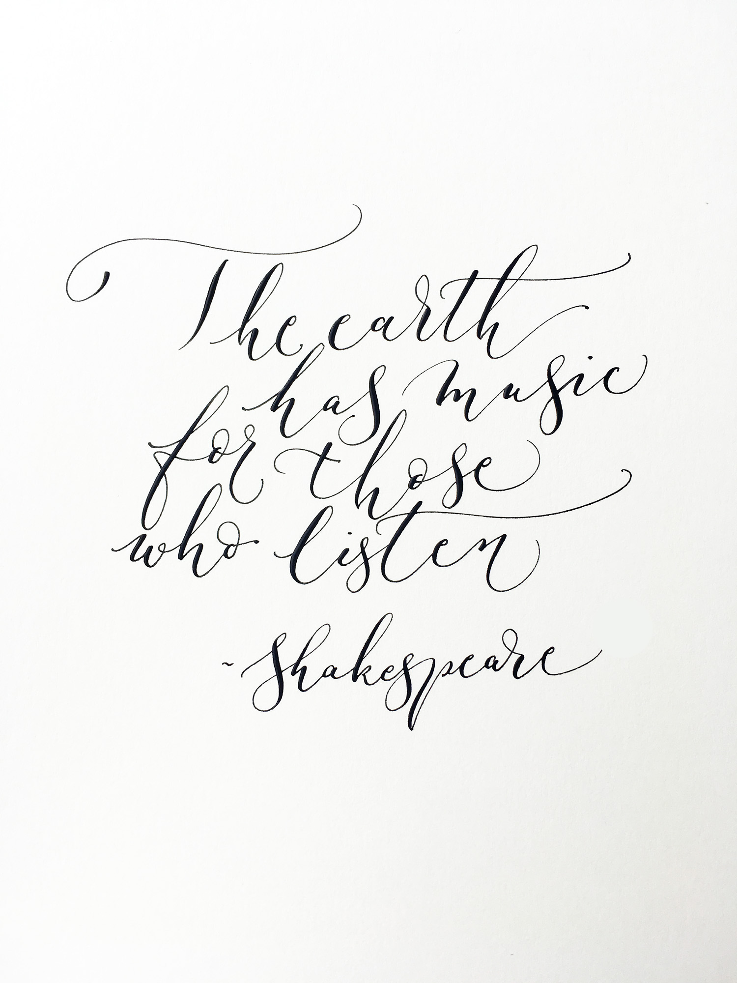 Calligraphy quotes and effective creative layouts a