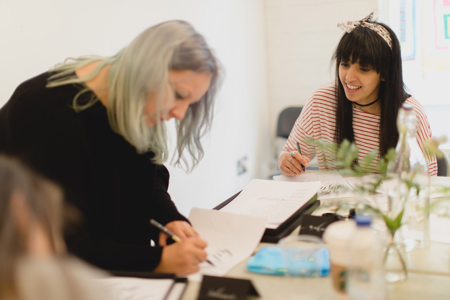 Calligraphy workshop at Manchester Craft and Design Centre – ONE LAST TIME!
