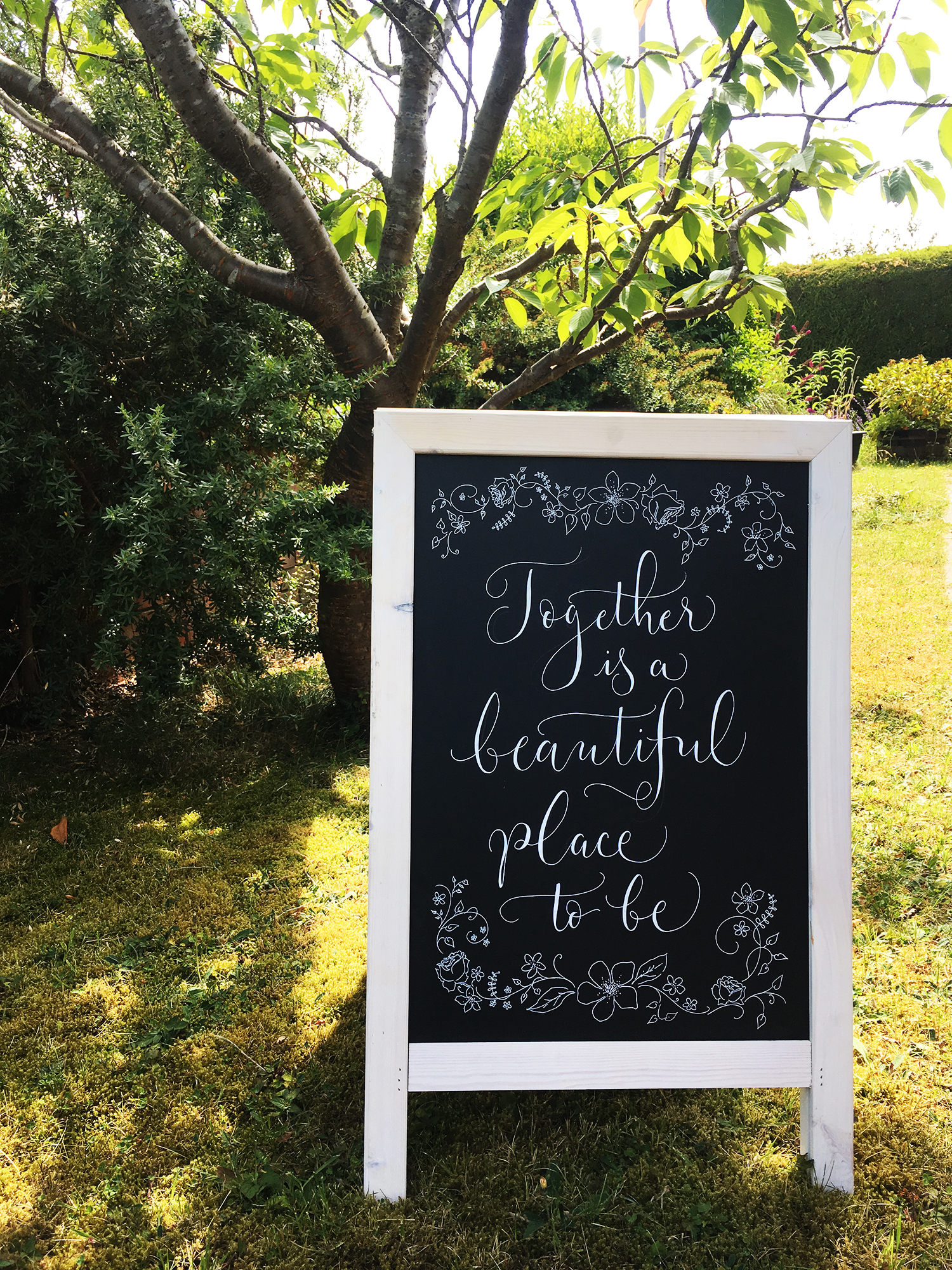 How to master chalkboard calligraphy