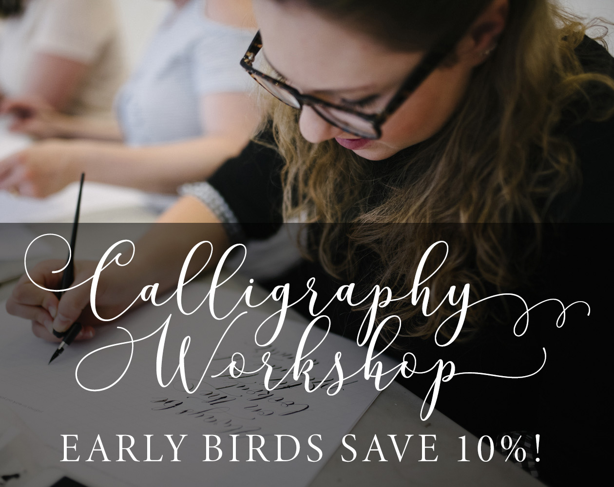 Calligraphy workshops SALE extended!! Save on my Manchester classes if you book by Friday!