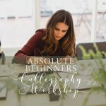 modern calligraphy class uk north west
