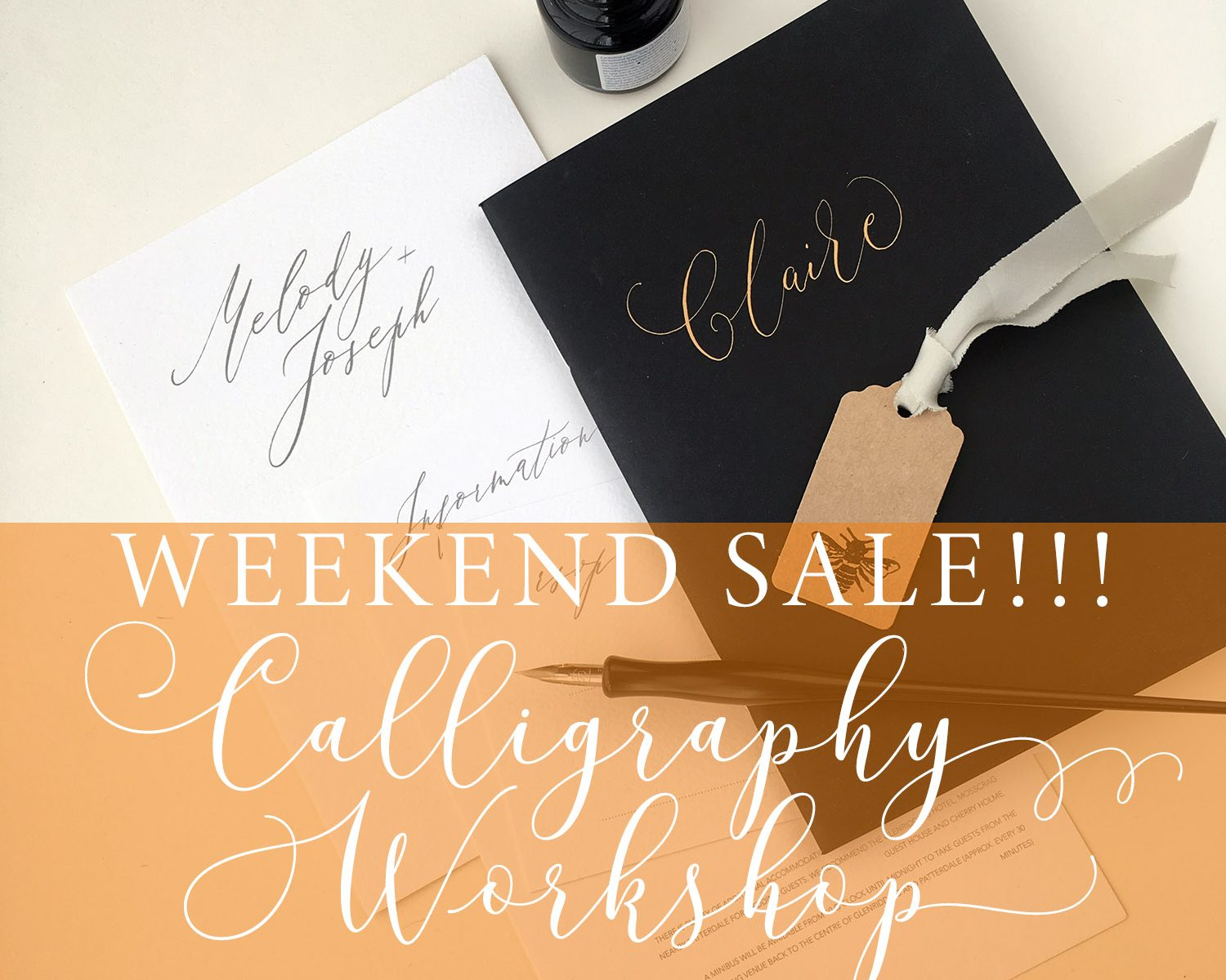 modern calligraphy workshops Manchester uk