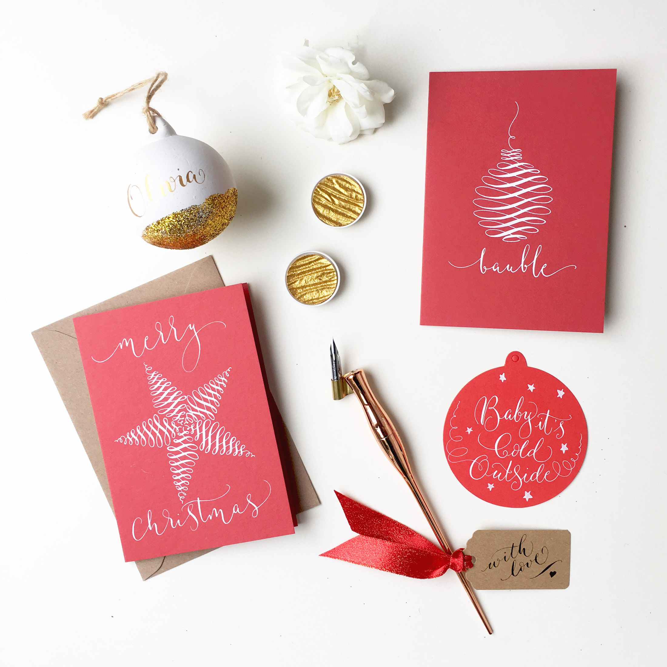Christmas Calligraphy Workshop in Manchester!